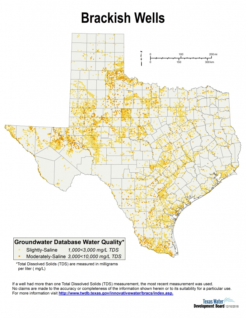 Desalination Documents - Innovative Water Technologies | Texas Water - Texas Water Well Map