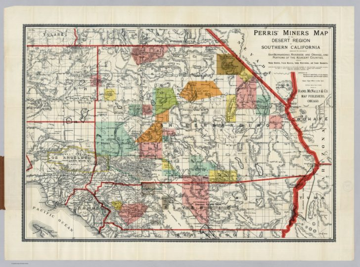 Printable Map Of Riverside County