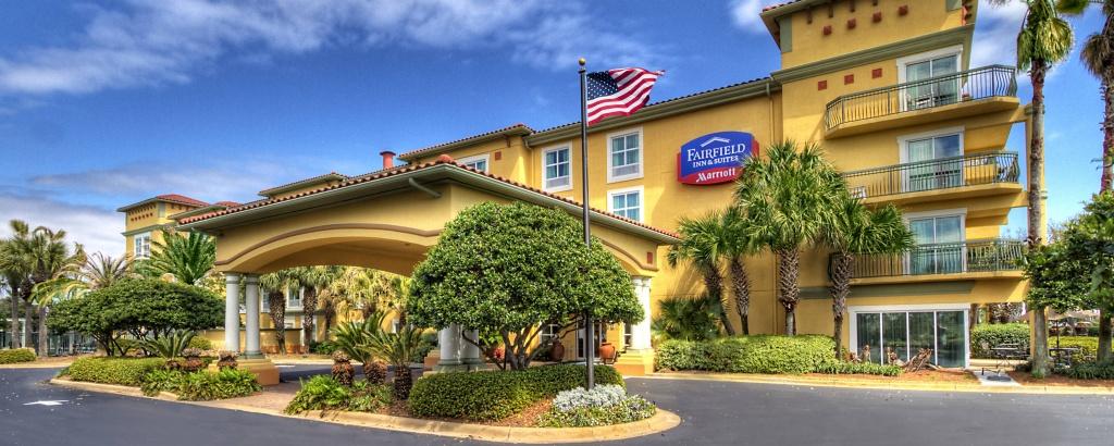 Destin, Florida Hotels On Emerald Coast | Fairfield Inn & Suites Destin - Map Of Hotels In Destin Florida