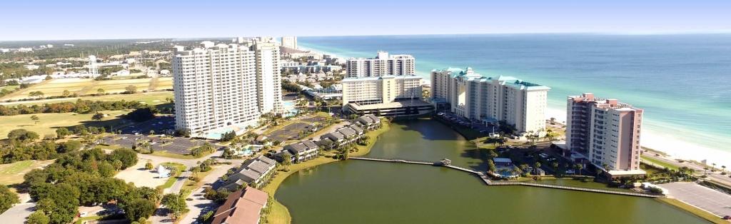 Destin Florida Resort And Condo Rentals - Seascape Resort - Map Of Destin Florida Condos
