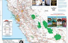 Detailed California Road / Highway Map – [2000 Pix Wide – 3 Meg – Map Of Northern California
