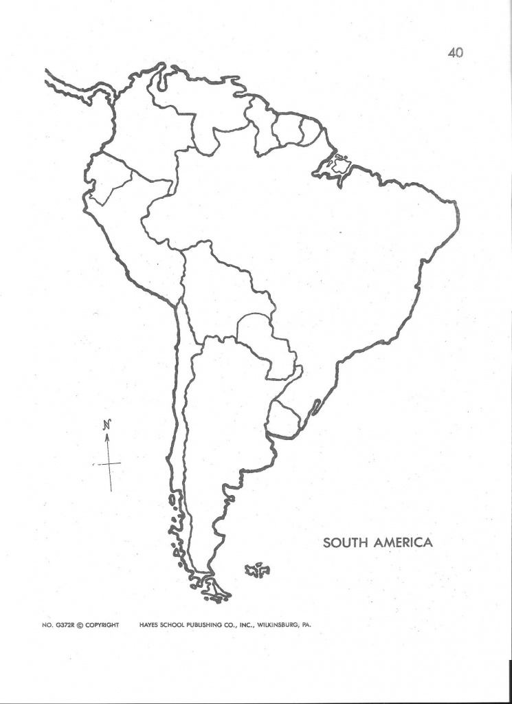 Detailed Latin America Map Study Outline Map Of Latin America Blank - Blank Map Of Latin America Printable