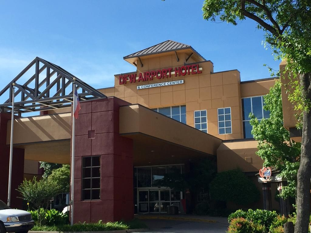 Dfw Airport Hotel, Irving, Tx - Booking - Map Of Hotels Near Fort Worth Texas Convention Center