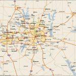 Dfw Metroplex Map – Dallas Fort Worth Metroplex Map (Texas – Usa) – Printable Map Of Dallas Fort Worth Metroplex