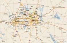 Dfw Metroplex Map – Dallas Fort Worth Metroplex Map (Texas – Usa) – Printable Map Of Dallas Fort Worth Metroplex