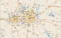 Printable Map Of Dallas Fort Worth Metroplex
