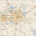 Dfw Metroplex Map   Map Of Dfw Metroplex Area (Texas   Usa)   Printable Map Of Fort Worth Texas