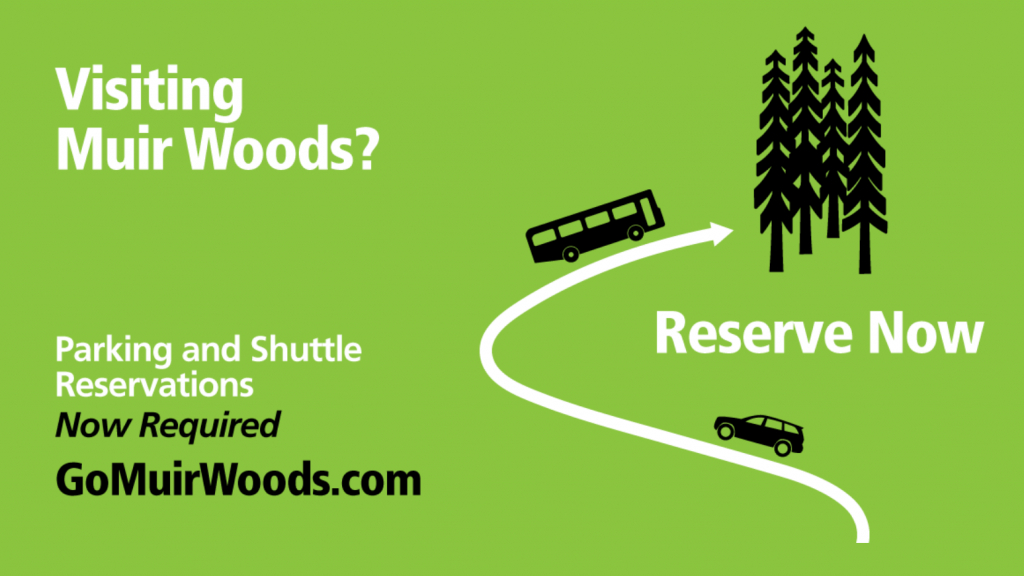 Directions - Muir Woods National Monument (U.s. National Park Service) - Muir Woods Map California