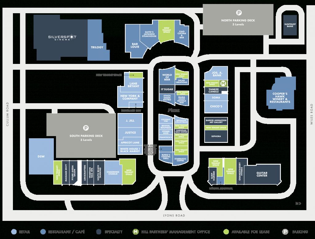 Directory | Promenade At Coconut Creek - Coconut Creek Florida Map