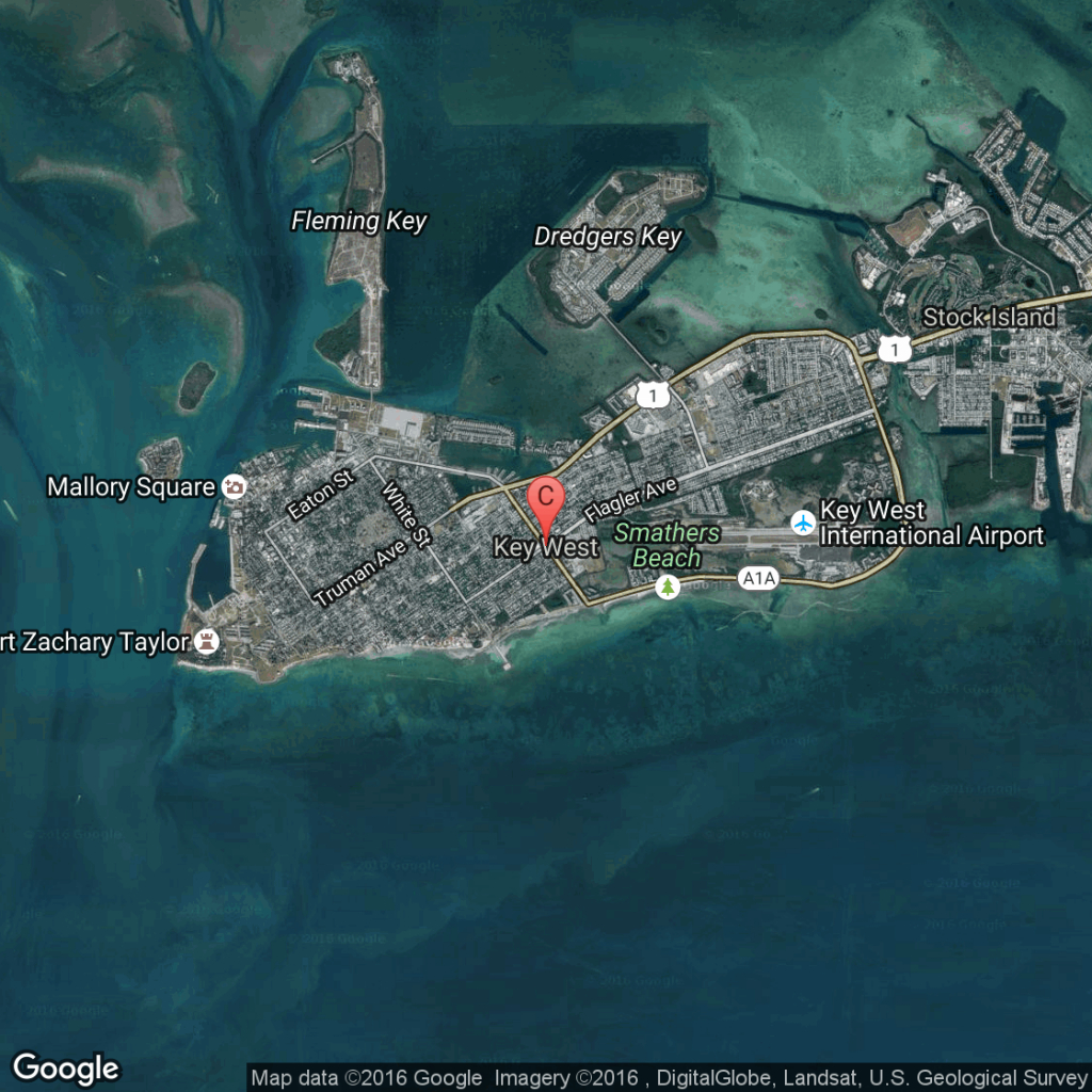 Discount Key West Hotels | Usa Today - Map Of Hotels In Key West Florida