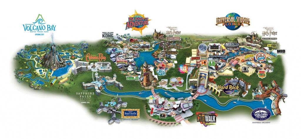 Discount Universal Studios Tickets   Orlando Florida - Universal Studios Florida Park Map