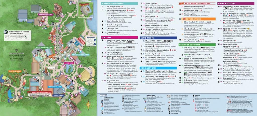 Disney World Map [Maps Of The Resorts, Theme Parks, Water Parks, Pdf] - Printable Disney World Maps