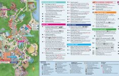Disney World Map [Maps Of The Resorts, Theme Parks, Water Parks, Pdf] – Wdw Maps Printable