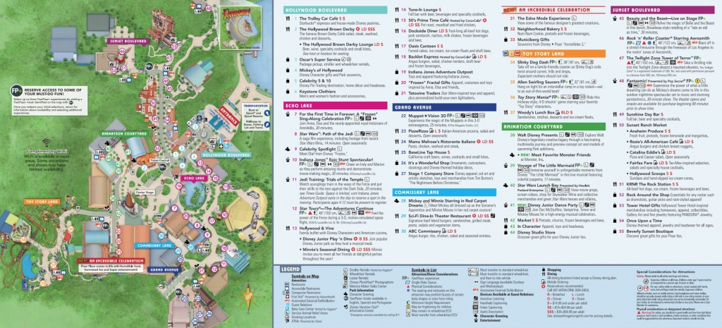 Disney World Map [Maps Of The Resorts, Theme Parks, Water Parks, Pdf] - Wdw Maps Printable