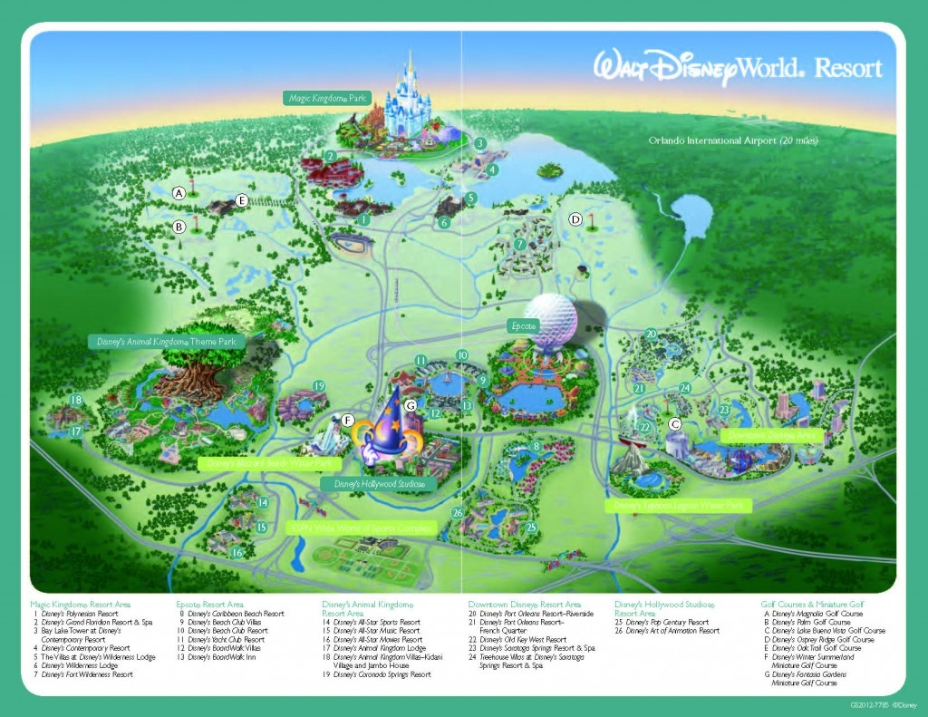 Disney World Resort Map - 2019 Tpe Community Conference2019 Tpe - Maps Of Disney World Printable