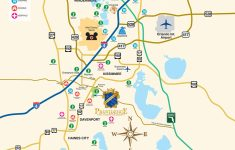 Map Of Central Florida Golf Courses