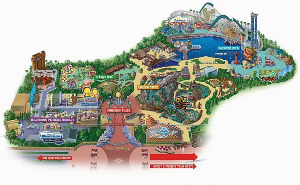 Disneyland California Google Maps Maps Of Disneyland Resort In - Anaheim California Google Maps