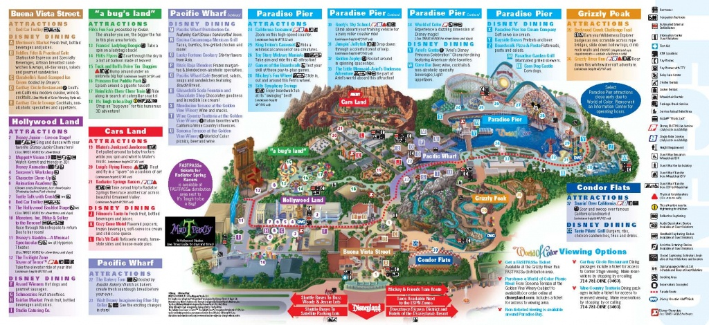 Disneyland Inside Out | Disneyland Park Information | Maps - Disneyland California Map