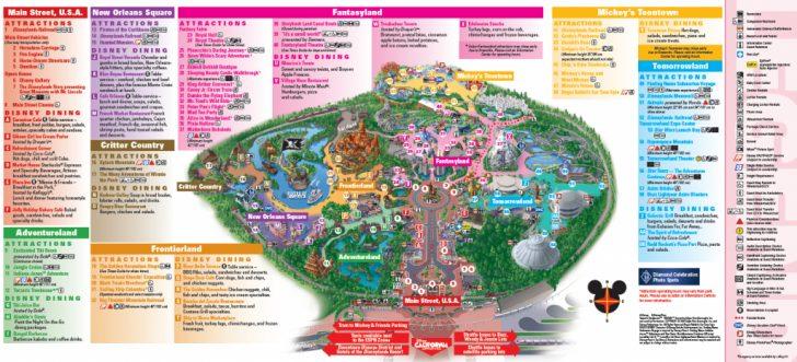 Printable Disneyland Map 2015