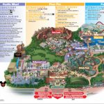 Disneyland Park Map In California, Map Of Disneyland   California Adventure Map