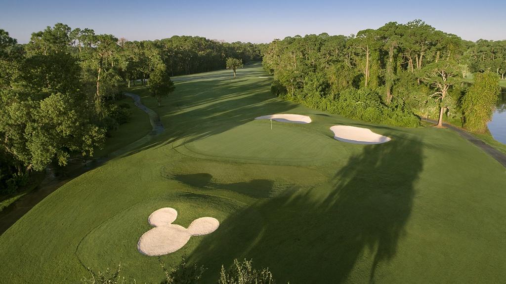 Disney's Lake Buena Vista Golf Course - Orlando, Florida - Best Golf Courses In Florida Map