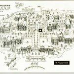 Disney's Port Orleans French Quarter Map   Wdwinfo   Printable French Quarter Map
