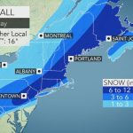 Disruptive Northeastern Us Snowstorm To Continue Into Monday   Florida Weather Map In Motion