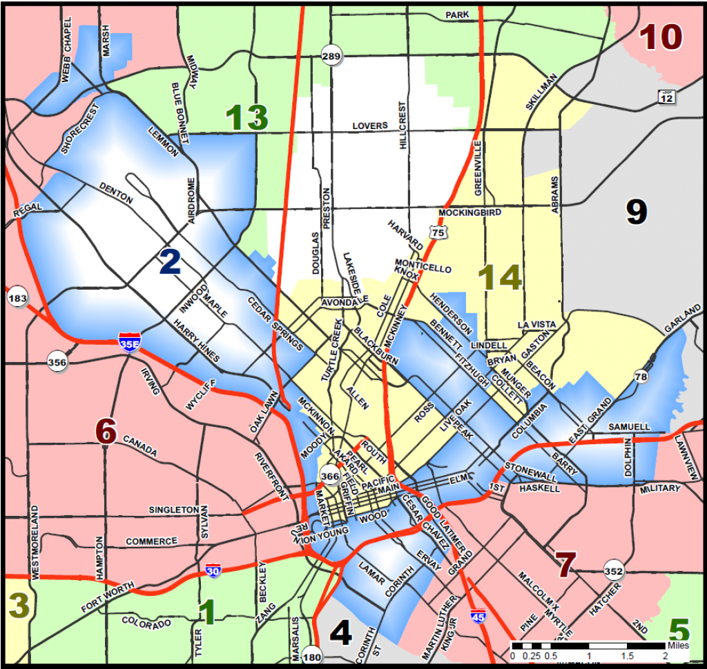 District Map - Map Records Dallas County Texas