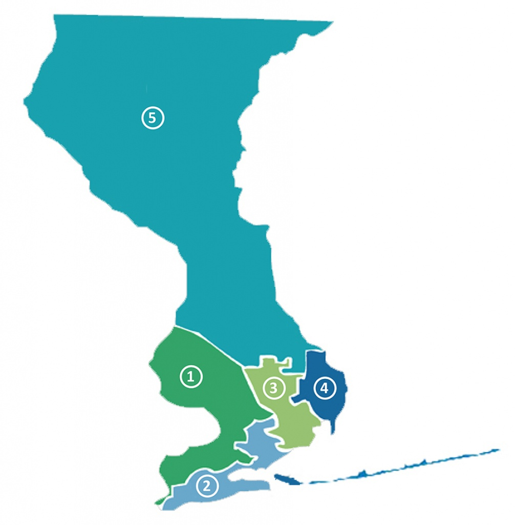 Districts - Map Of Escambia County Florida