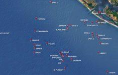 Florida Wreck Diving Map