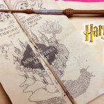 Diy Harry Potter Marauder's Map Printable And Parchment Easy Diy   Hogwarts Map Printable