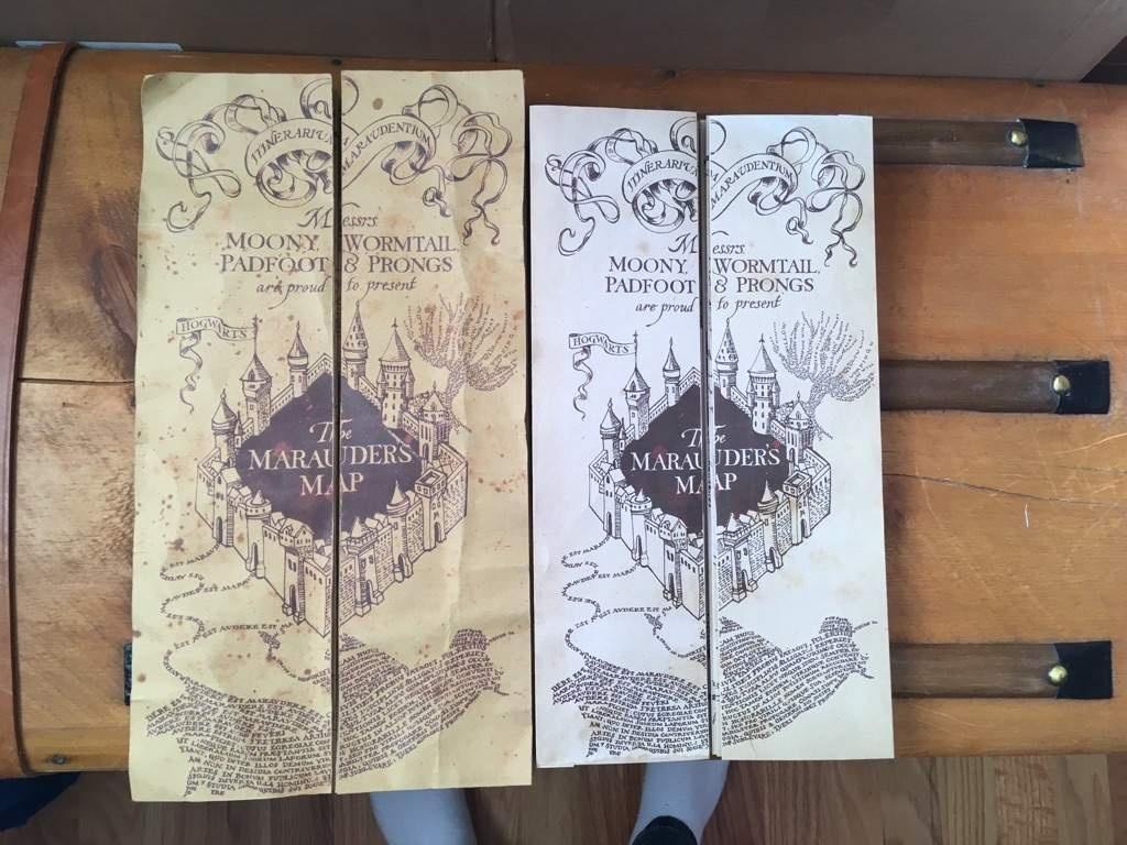 Diy Marauder's Map!!!! | Harry Potter Amino - Free Printable Marauders Map