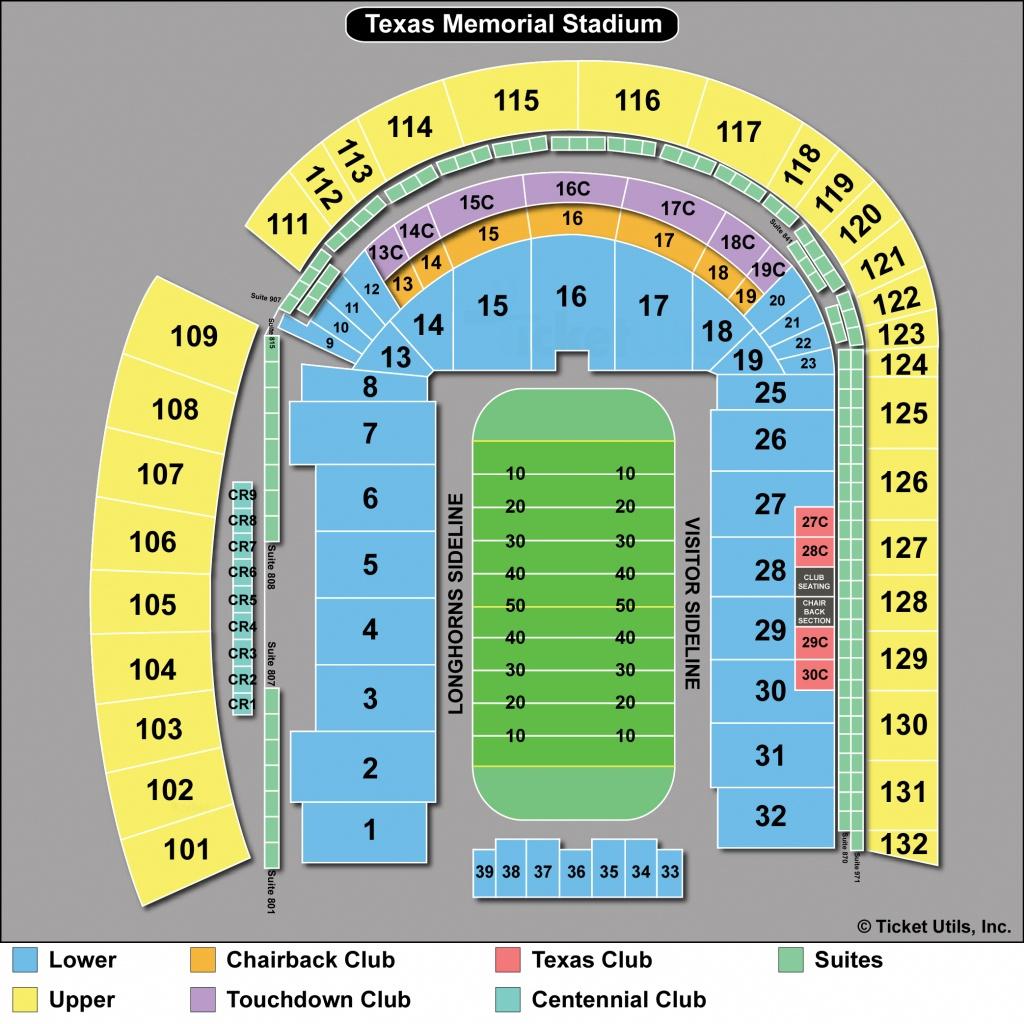 Dkr Stadium Map | Area Code Map - University Of Texas Stadium Map