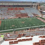 Dkr Texas Memorial Stadium Section 106   Rateyourseats   Texas Longhorn Stadium Seating Map