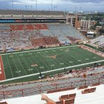 Dkr Texas Memorial Stadium Section 107   Rateyourseats   Texas Longhorn Stadium Seating Map