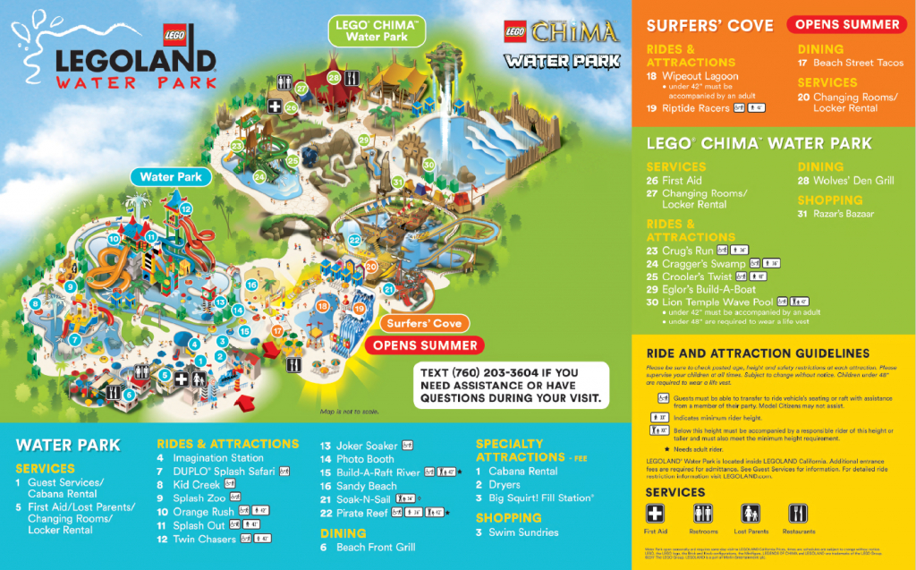 Do You Have A Map Of The Water Park? – Legoland® California Theme - Legoland Florida Park Map