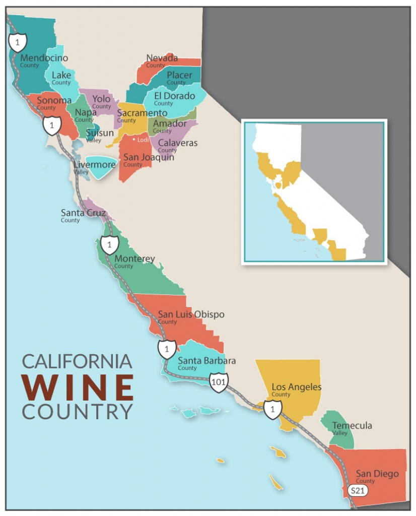 Dog-Friendly Lodging | Dog-Friendly Hikes | Dog-Friendly Parks | Dog - Wine Country Map Of California