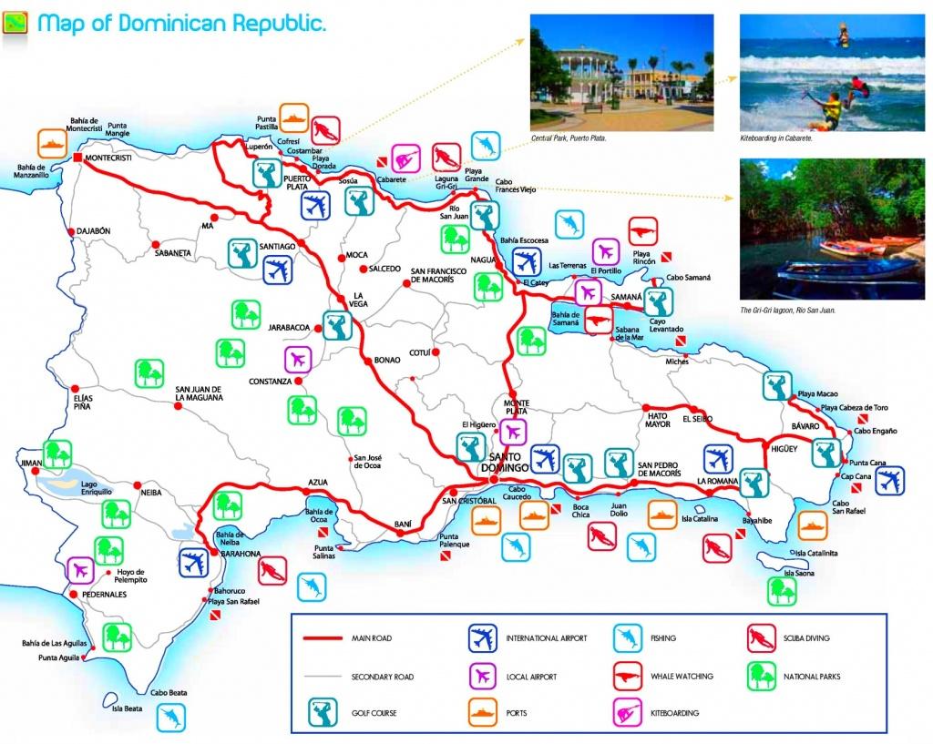 Dominican Republic Maps   Maps Of Dominican Republic - Printable Map Of Dominican Republic