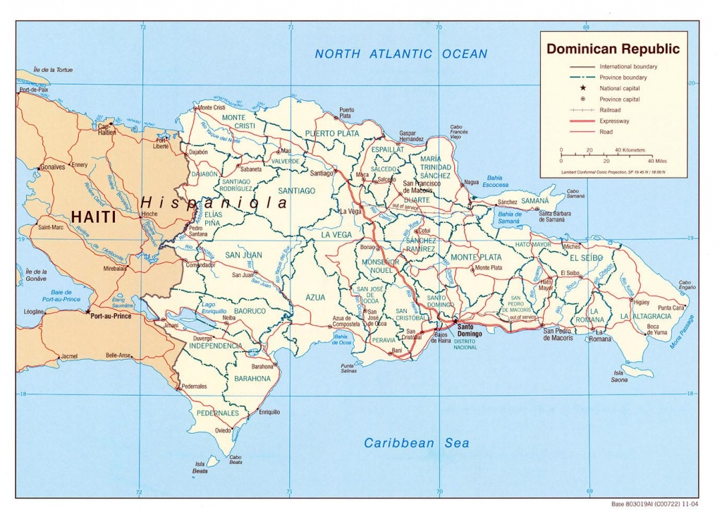 Dominican Republic Maps   Printable Maps Of Dominican Republic For - Printable Map Of Dominican Republic