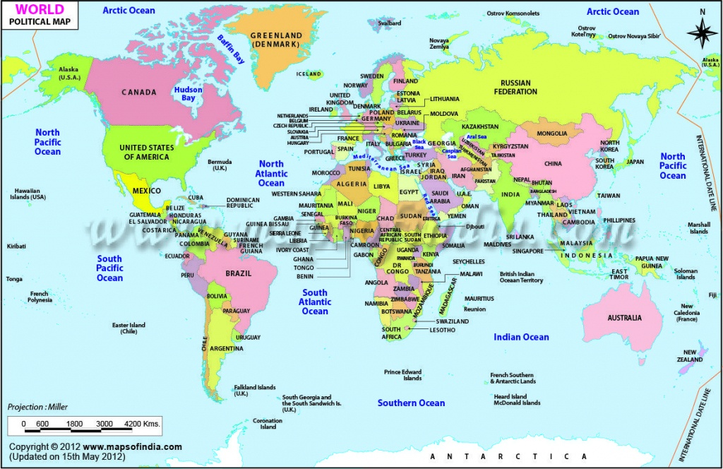 Download Map World Printable Major Tourist Attractions Maps With Of - Free Printable World Map For Kids With Countries