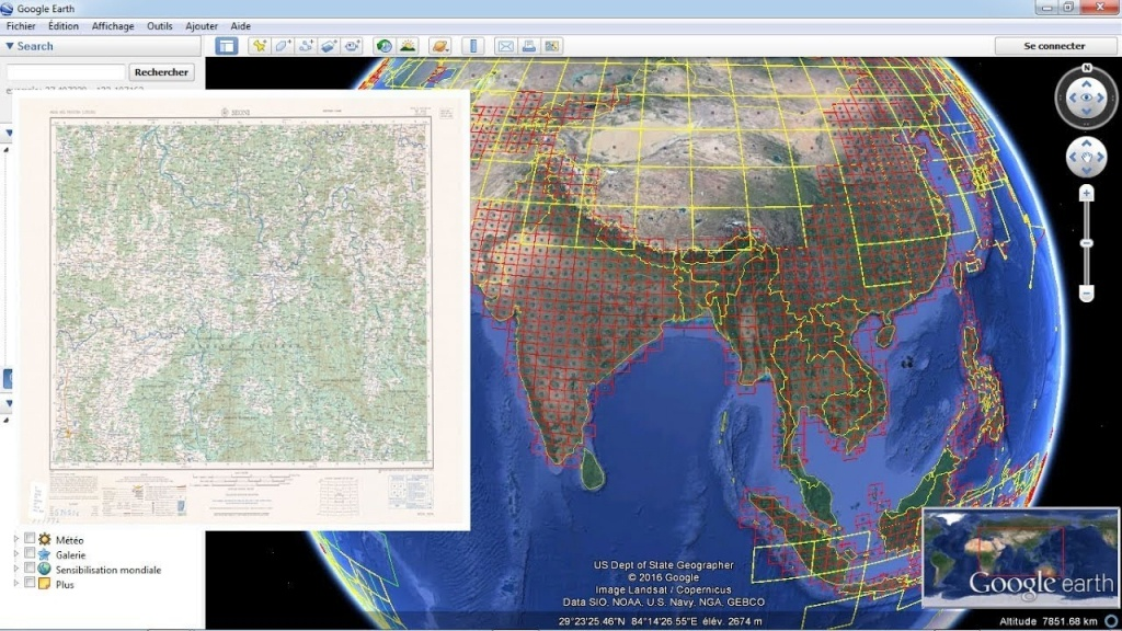 Download Topographic Maps From Google Earth - Youtube - Free Printable Topo Maps