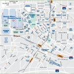 Downtown Atlanta Tourist Map   Printable Map Of Columbus Ga