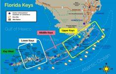 Upper Florida Keys Map