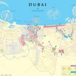 Dubai City Map   Printable Map Of Dubai