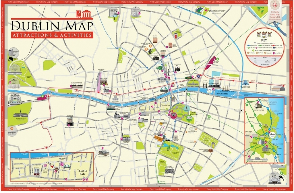 Dublin Ireland Attractions Map – Uk Map - Dublin Tourist Map Printable