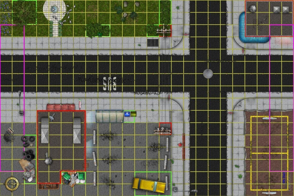 Dundjinni Mapping Software - Forums: Modern City Map For Heroclix - Printable Heroclix Maps