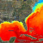 Earthnc | Weather And Tides   Florida Water Temperature Map