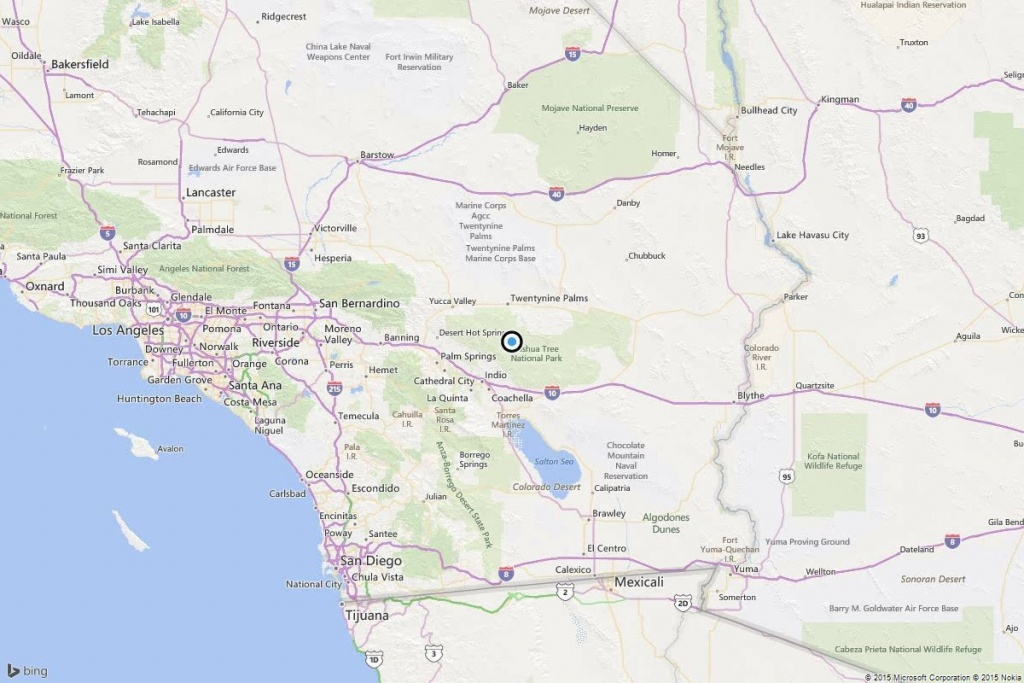 Earthquake: 3.7 Quake Strikes Near Twentynine Palms, Calif. - Los - 29 Palms California Map