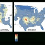Earthquake Hazard Map Includes Human Caused Quakes For First Time   Usgs Earthquake Map Texas