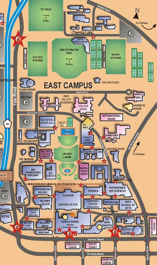 East Campus | Maps | Visitor Information | Places & Spaces - Wits - South Texas College Mid Valley Campus Map